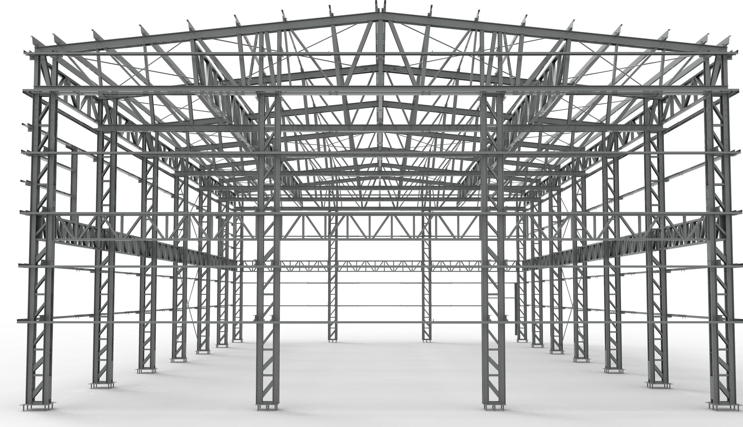 Industiehalle Halle Leichbauprofil Stahlblechprofil Leichtbau