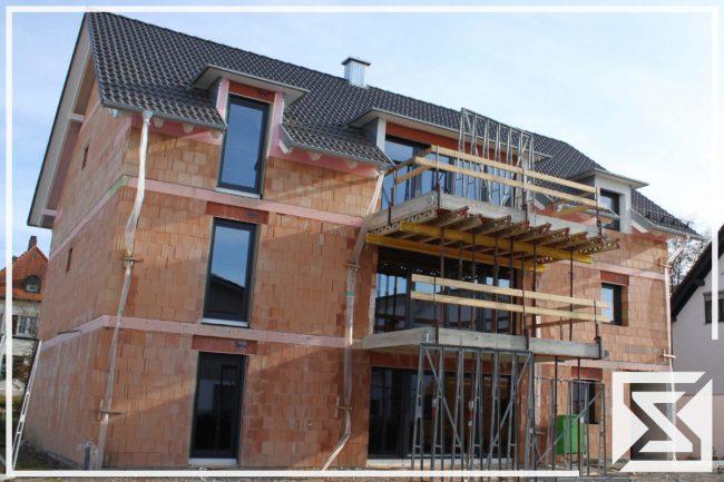 Mehrfamilienhaus Architektenhaus Rohbau Massiv