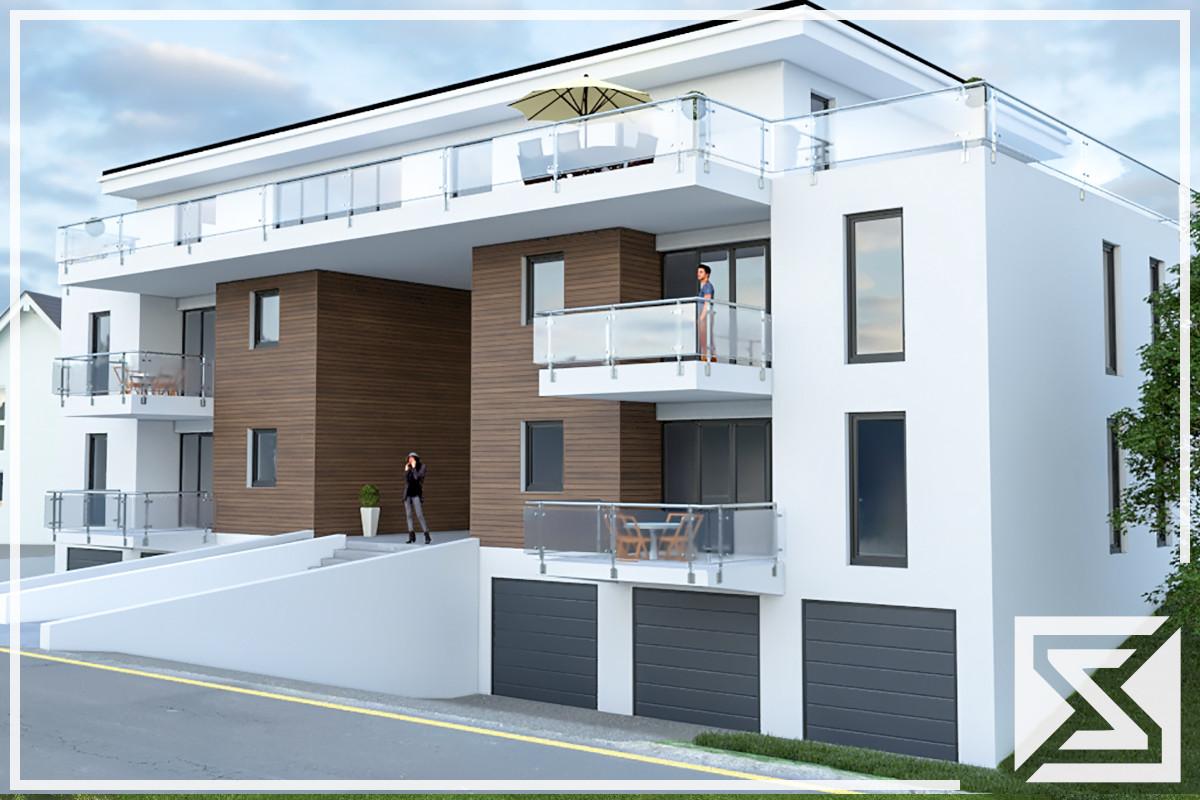 Mehrfamilienhaus Architektenhaus enggraph egsol 500m² Wohnfläche