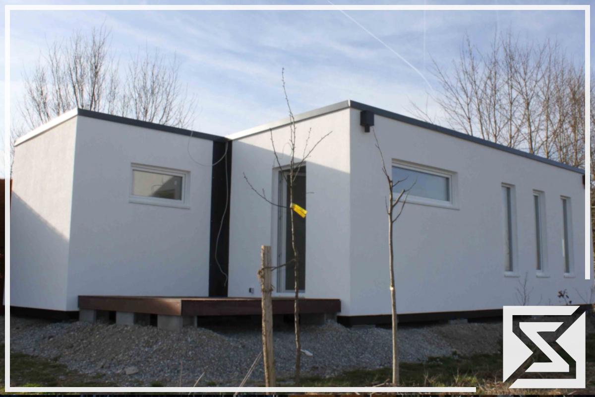 EngGraph Modulhaus Mobilhaus als Buero